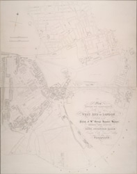 Map shewing the improvements now in progress at the West End of London, particularly in the parish of St George, Hanover Square